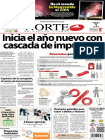Periódico Norte edición impresa día 1 de enero 2014