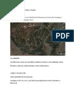 Informe de Salida de Campo Congata