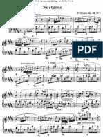 Nocturne Op 32 No 1