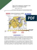 Dispersion Model Radioactive Releases in Atmosphere Worldwide