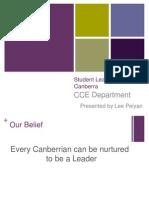 2014 student leadership