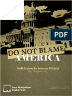 Do Not Blame America