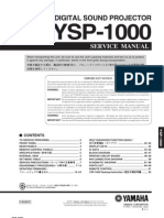 YAMAHA YSP-1000