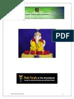 HTW Ganesh Puja Booklet