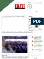 """""""¿Casas gratis llenan déficit de vivienda o electoral_""""_ Uribe en Cali - Periódico Debate"""