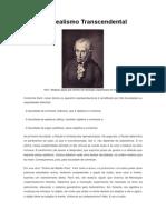 Artigo_Kant e o Idealismo Transcendental