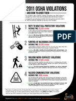 Guide to osha violations in the workplace