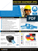 Free Guide for PERSONAL PROTECTIVE EQUIPMENT (PPE)