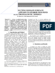 A CONDUCTING DOMAIN SURFACE BOUNDARY APPLIED TO HYBRID FEM-FDTD ELECTROMAGNETIC MODELS
