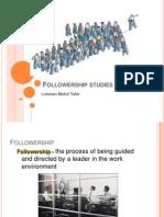 Followership Studies