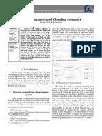 Controlling motors of Clouding Computer
