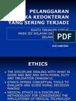Pelatihan Tot Etik Fkui 2003