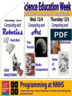 NNHS Computer Science Education Week Poster