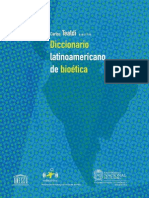 Diccionario Latinoamericano de Bioética I