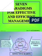 Seven Paradigms Slides