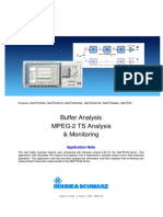 Buffer Analysis on MPEG2