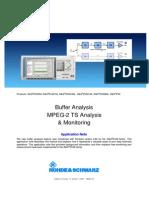 Buffer Analysis on MPEG2