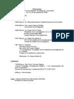 23 SM IIHS 2008 Taller de Investigacion Programa