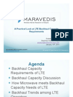 A Practical Look at LTE Backhaul Capacity Requirements