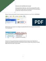 Manual Extract Data EmisOnline_090709 Untuk Utiliti