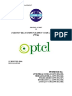 31876419 PTCL Project Strategic Management
