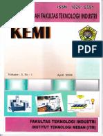 Kemi Vol 3, No 1 April 2008, Halaman 15 - 21