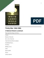 Trinity Atomic Bomb White Sa