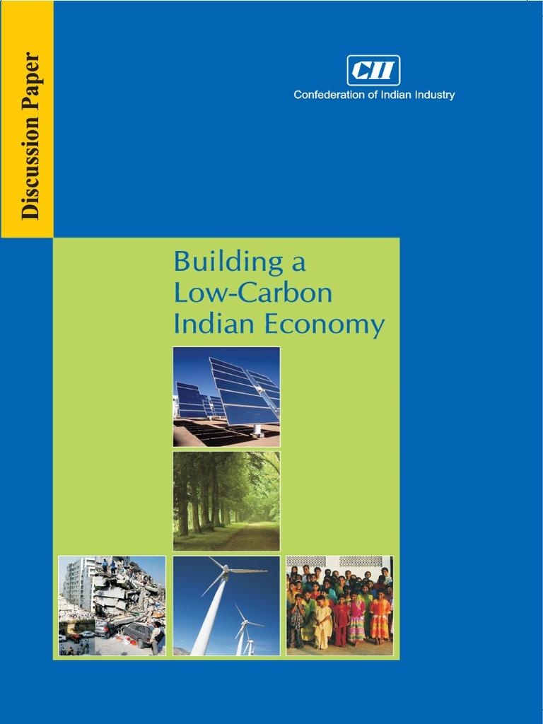 CII - Building a Low-Carbon Indian Economy | Low Carbon Economy