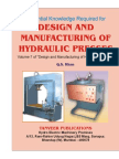 Design and Mfg of Hydraulic Presses