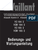 Bedienungsanleitung Thermoblock VC VCW 194 195 2
