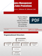 Sales Promotion for JnJ
