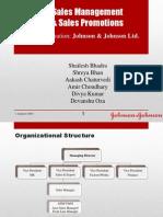 Sales Promotion for JnJ