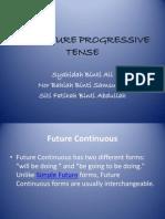 Future Progressive Tense