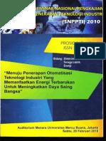 SNPPTI 2010, Vol 1, 20 Feb 2010, No Daf Isi 9, Hal 137-141