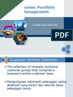 6 Customer Portofolio Management