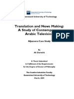 A Study of Contemporary Arabic Television