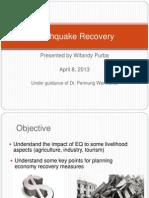 Earthquake Recovery - Wifandy Purba