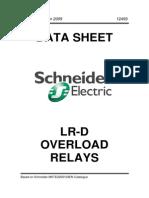 Schneider LR-D Overload Relays
