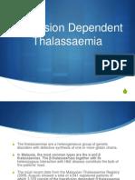 Transfusion Dependent Thalassemia