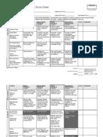 Presentation Score Sheet