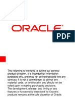 Oracle Project Management for DoD Earned Value Compliance