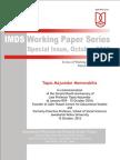 IMDS Working Series Tapas Majumdar