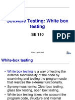 White Box Testing in Software Testing