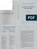 Archivio Storico Messinese Vol 40