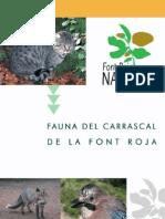 Cuaderno Fauna Font Roja
