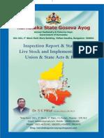 Report of Karnataka Gauseva Ayog prepared by Dr. S.K. Mittal, Member