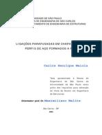 Carlos Henrique Maiola - Ligações Parafusadas Em Chapas Finas E Perfis De Aço Formados A Frio