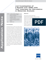 An Microstructural Investigation of Austempered Ductile Iron ADI Vers.4