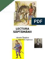 LECTURA   SÃPTÃMÂNII- 5