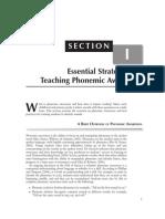 Teaching Phonemic Awareness